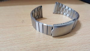 Image of SEIKO 18MM STAINLESS STEEL GENTS WATCH STRAP,1980'S, ZS-3,NEW