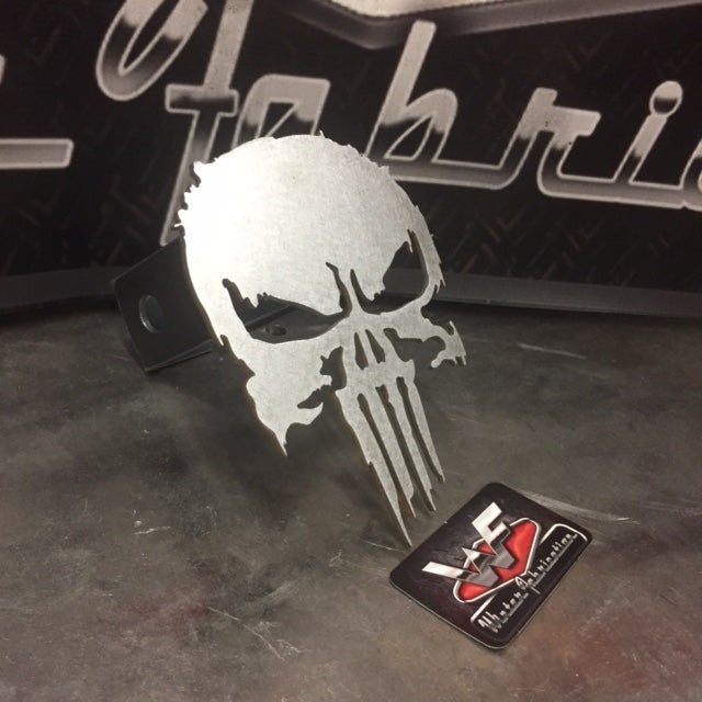 Image of New Style Punisher Hitch Cover