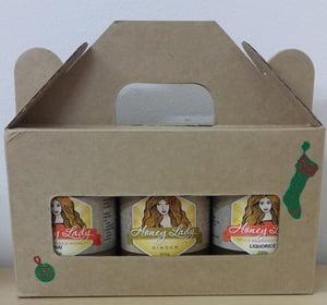 Image of Gift Packs - 3 x 200g Spice Blended Honeys