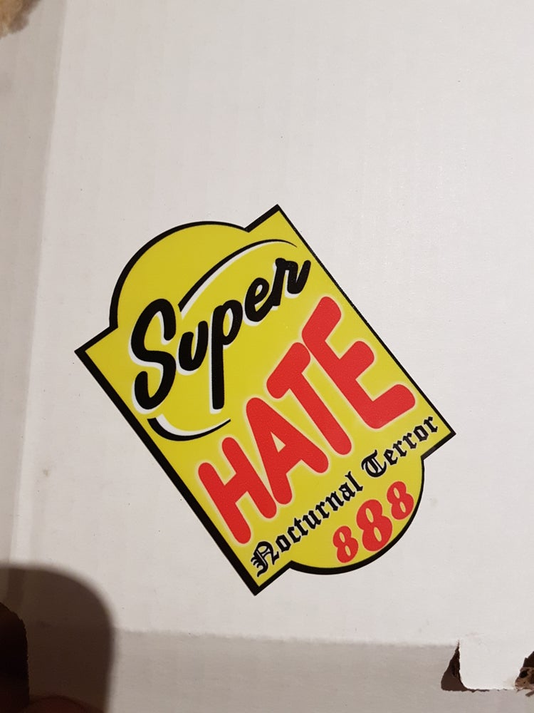Image of SUPER HATE
