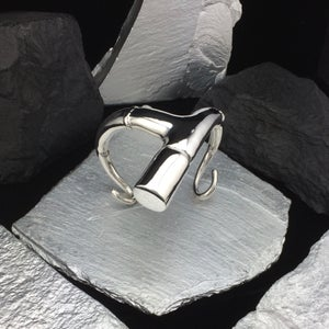 Image of SILVER TENDRIL BRANCH CUFF BRACLET IV