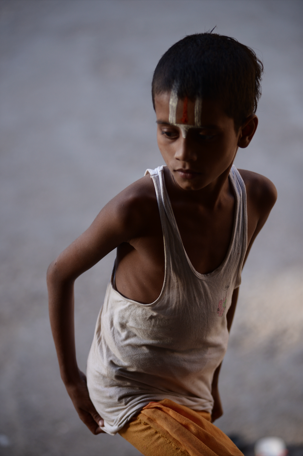Image of Temple Boy HD photo print 75x50 cm
