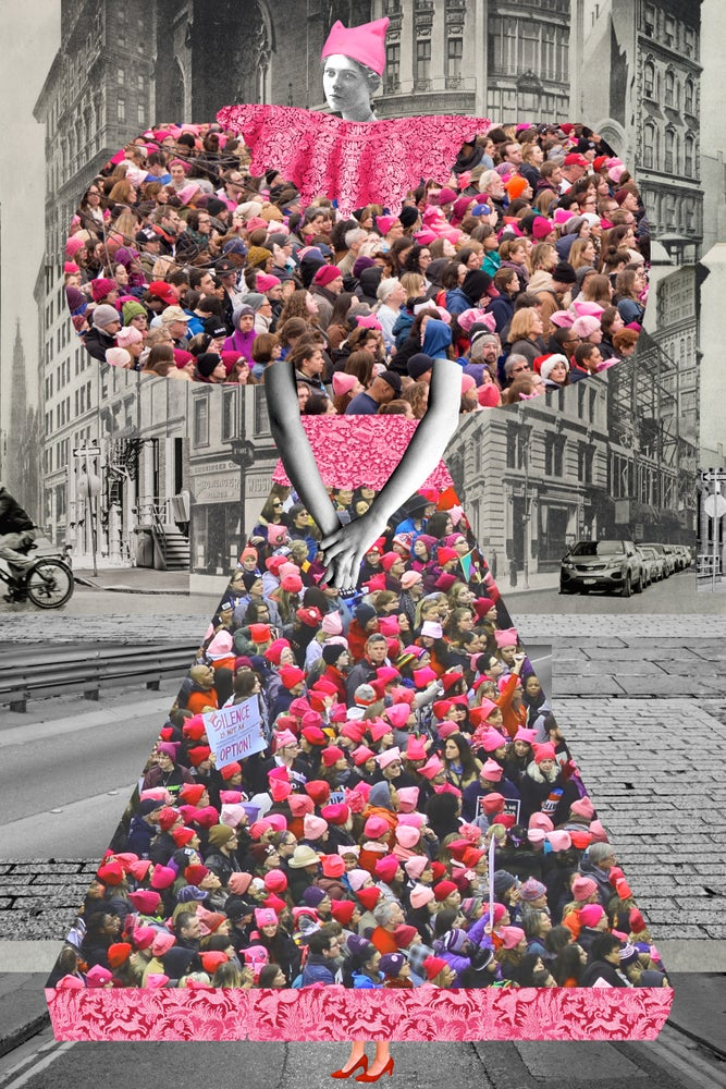 Image of Plate No. 247: The Women's March on NYC