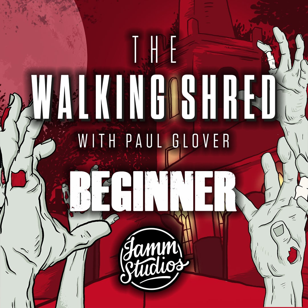 Image of The Walking Shred - Wokshop Handbook (Beginners) & Backing Tracks