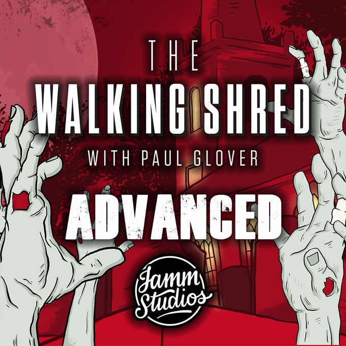 Image of The Walking Shred - Workshop Handbook (Advanced) & Backing Tracks