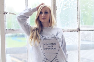 Image of Conquerors Grey Sweater