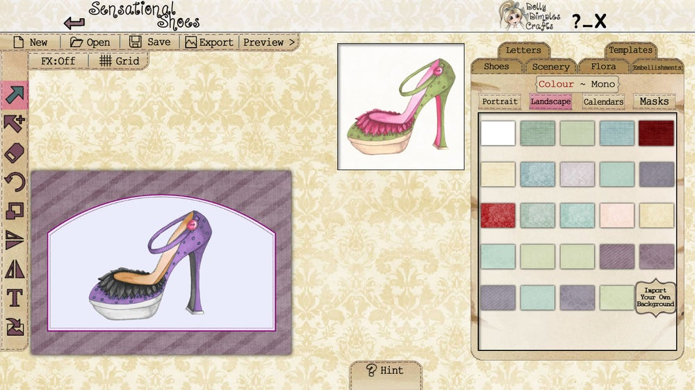 Image of Sensational Shoes by Dolly DImples