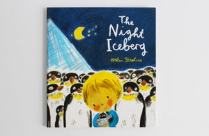 Image of The Night Iceberg signed book with giclée print
