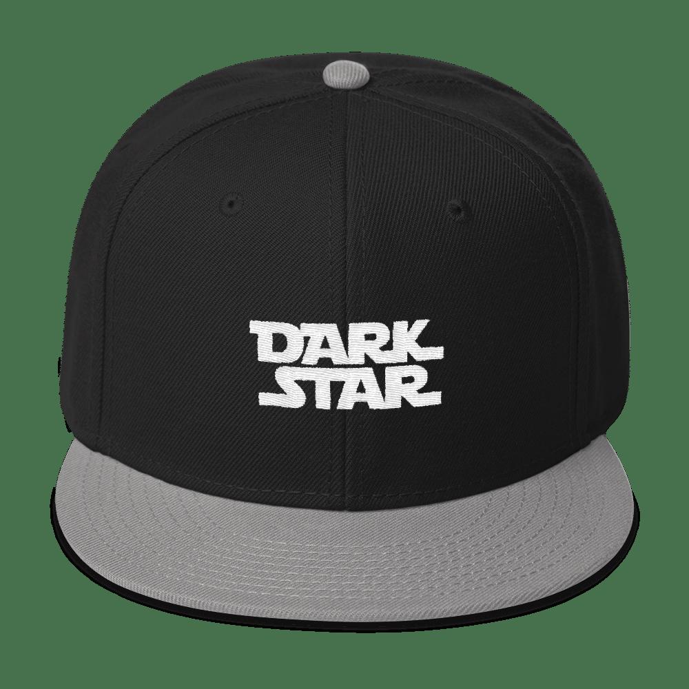 eaba35510 Dark Star Embroidered Wool Blend Snapback