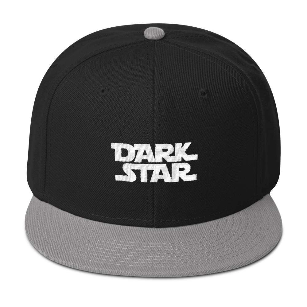 Dark Star Embroidered Wool Blend Snapback