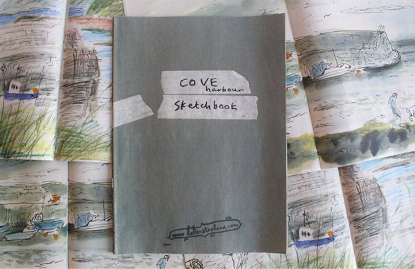 Image of Helen's Cove Harbour Sketchbookzine