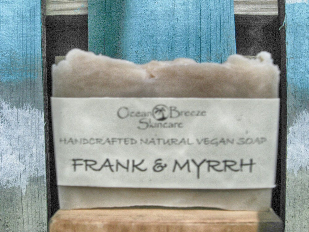 Image of Frankincense & Myrrh Soap