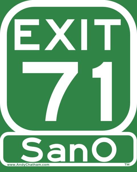 Image of Exit 71 - SanO