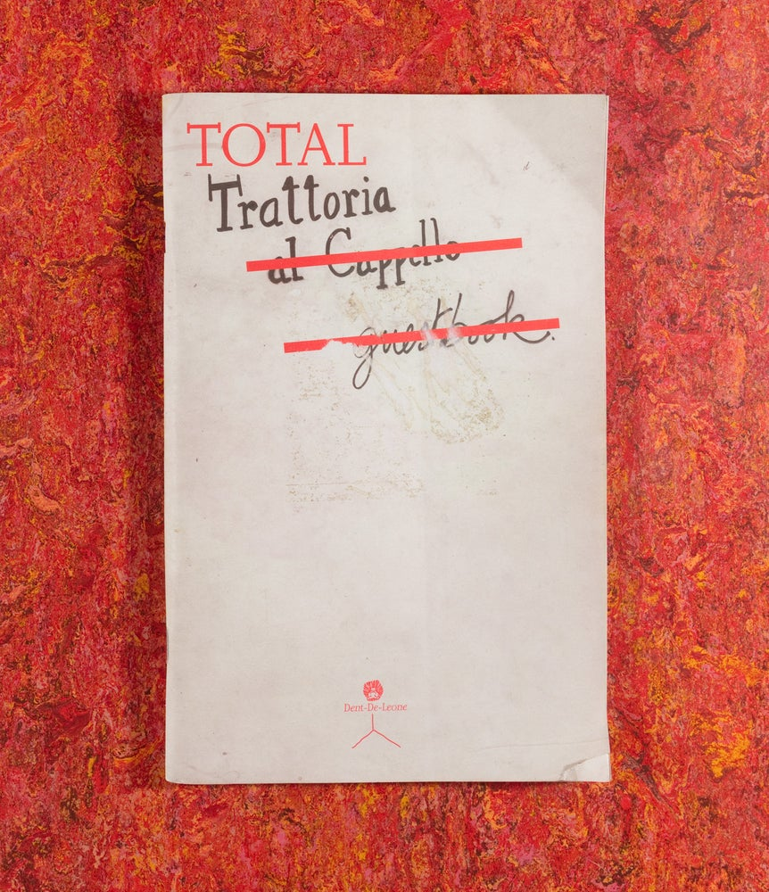 Image of Total Trattoria <br/> — Martino Gamper and The Trattoria Team