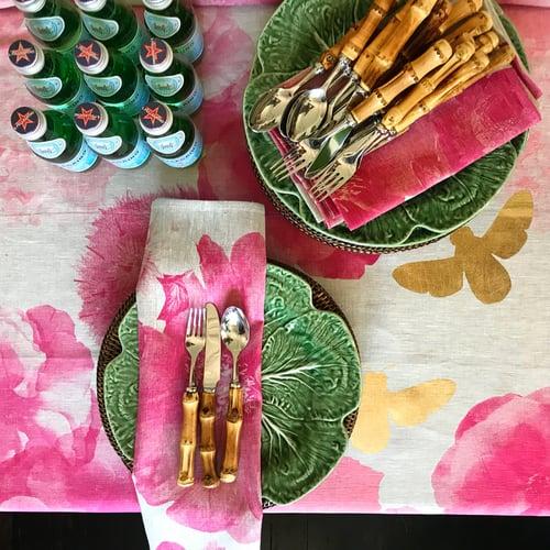 Image of Bamboo Handled Cutlery Set