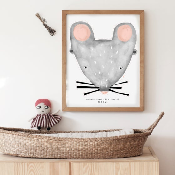 Image of BABY MOUSE ILLUSTRATION