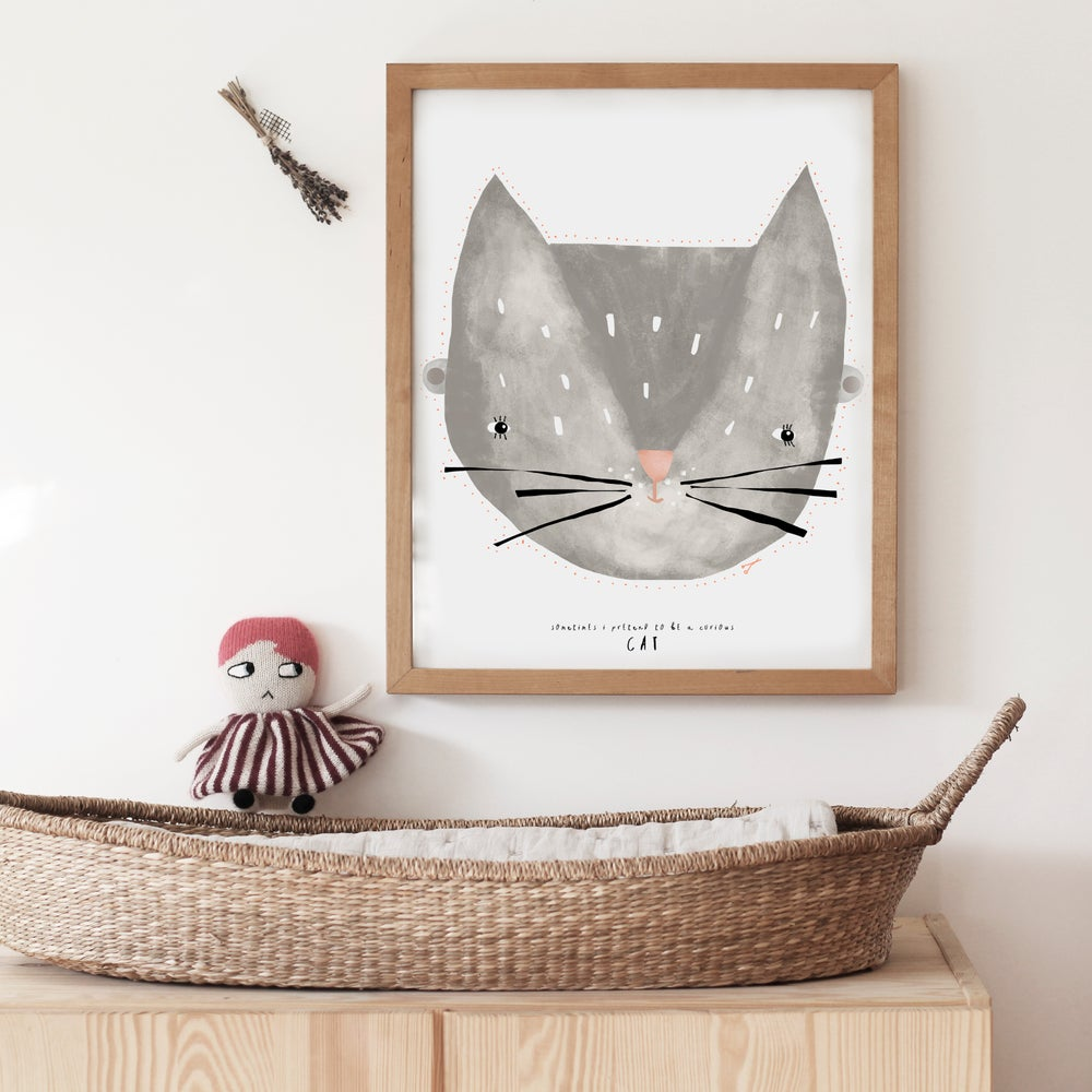 Image of BABY CAT ILLUSTRATION