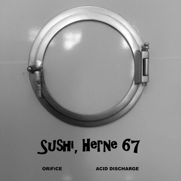 "Image of ORiFiCE/ ACID DISCHARGE ""Sushi, Herne 67"" (BELLERPARK RECORDS 006)"