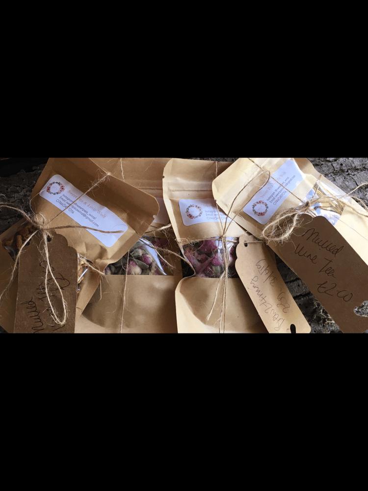 Image of Herbal tea travel packs