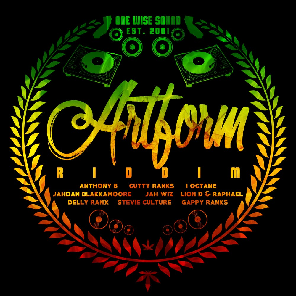 "Image of 12"" Picture Disc - Artform Riddim"