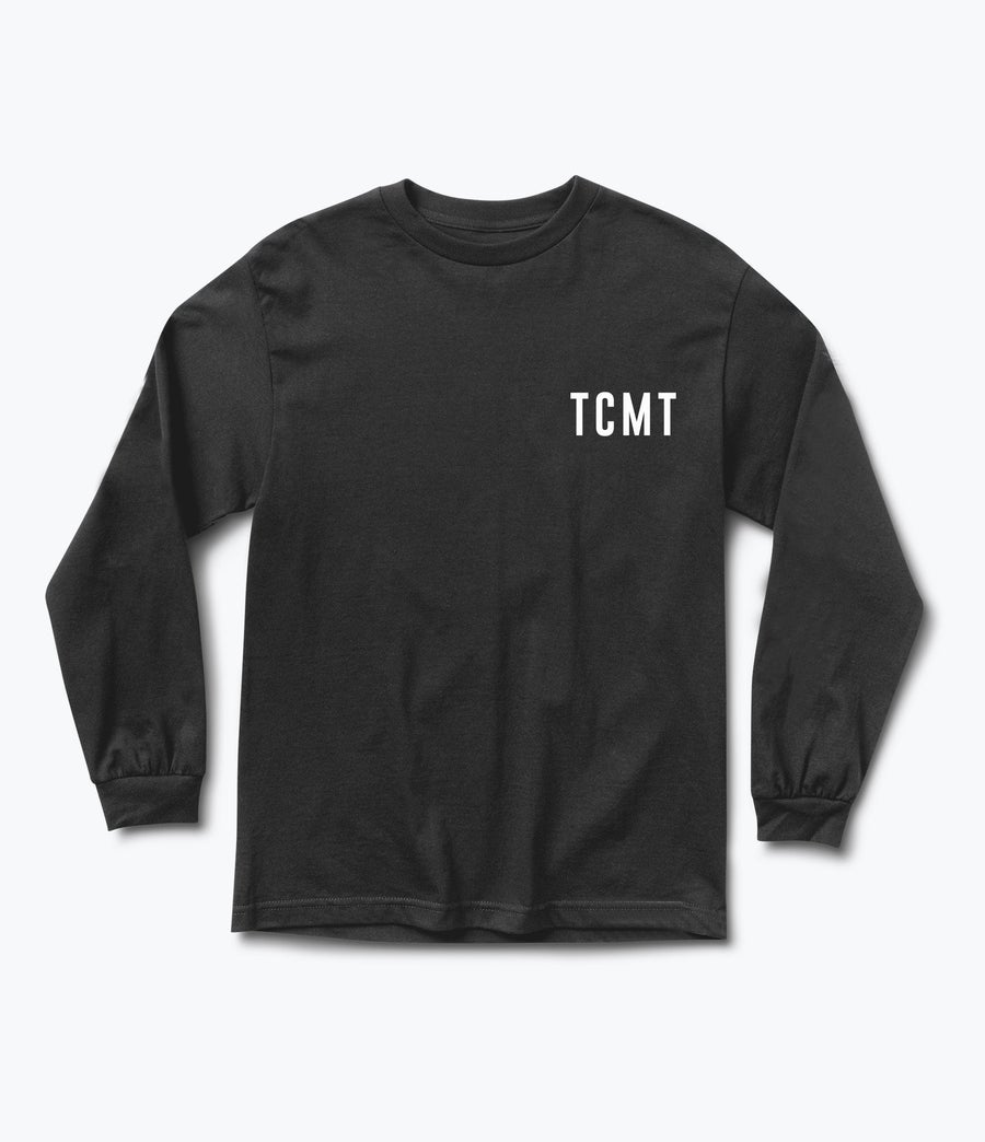 "Image of TCMT ""CLEAN"" LONG BLACK"