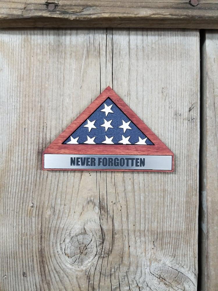 Image of *Read Description* Customized Memorial Flag