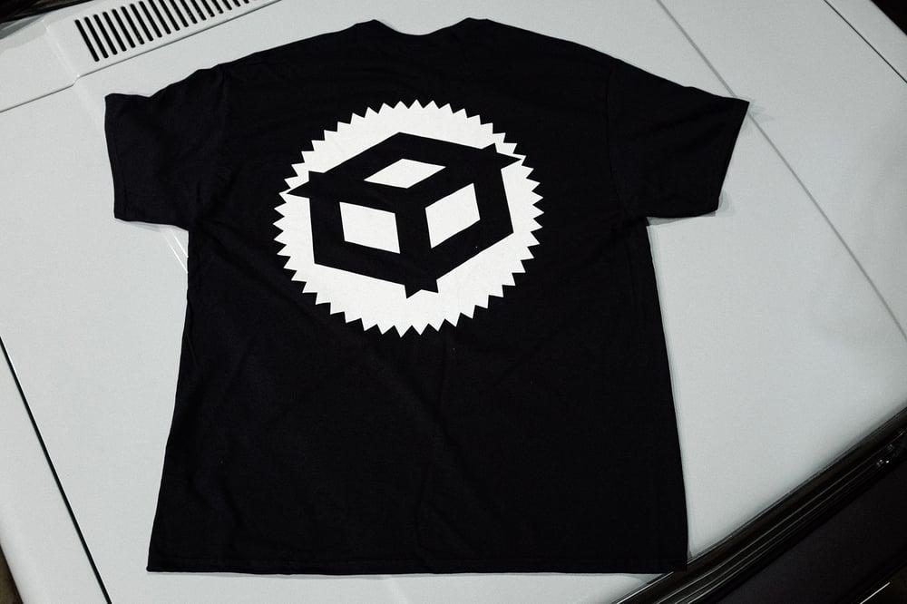 "Image of Juicebox ""Badge"" T-shirt Black"