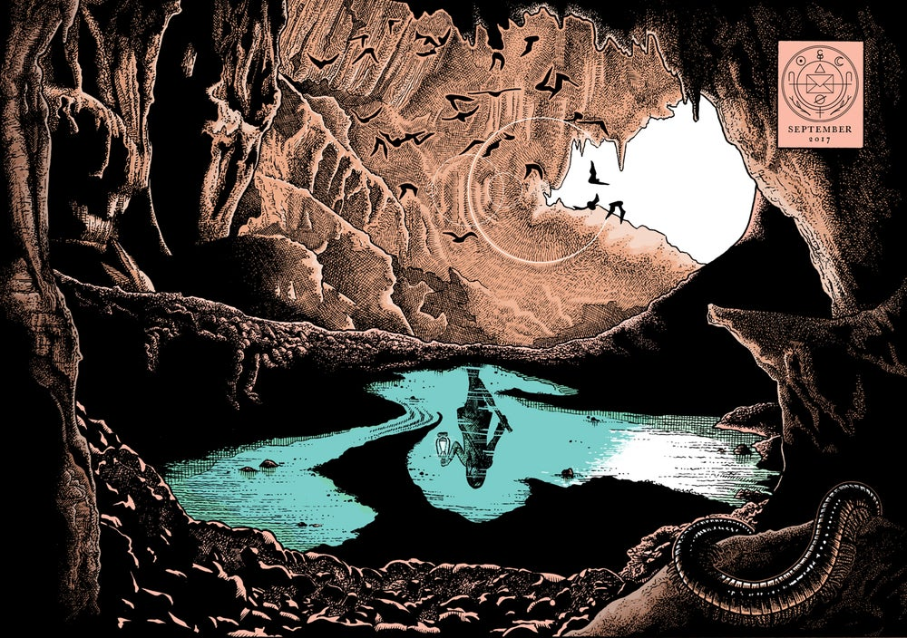 The Cavern: Cryptogram Puzzle Post -  Cryptogram Puzzle Post