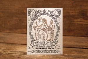 "Image of Ancient Treasure - Limited Edition Letterpress Print (8.5 x 11"")"