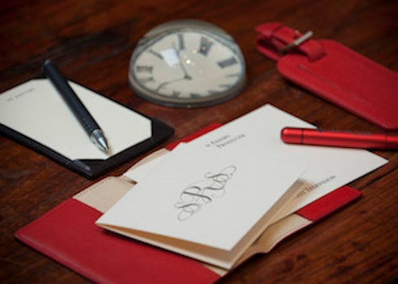 Image of Custom Stationery