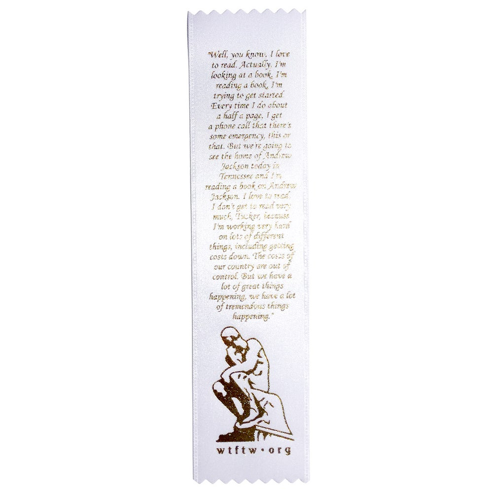 Image of Big Time Thinker --bookmark--