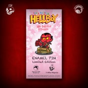 Image of Hellboy/B.P.R.D: Limited Edition itty bitty Hellboy enamel pin!