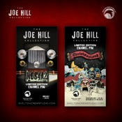 Image of The Joe Hill Collection: Limited Edition N0S4A2 and Christmasland pin set!