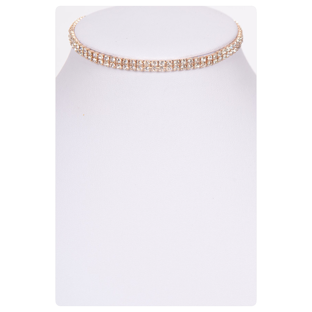 Image of Rumor Crystal Chain with detachable Choker