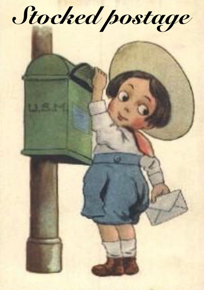 Image of Stocked postage