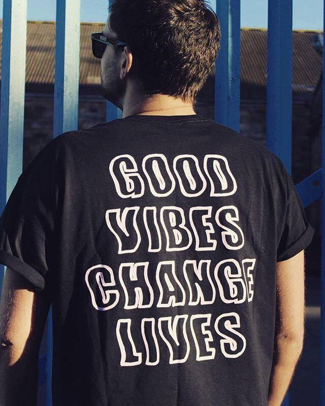 Image of Good Vibes Change Lives T-Shirt