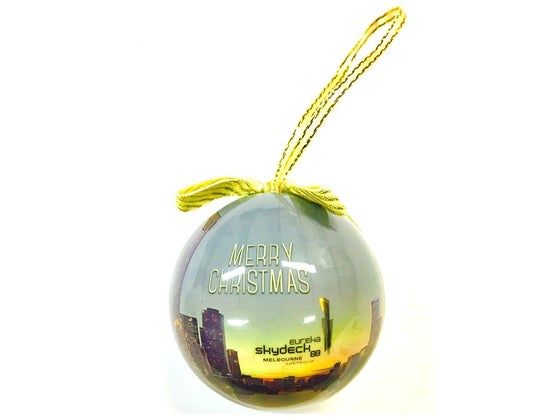 Image of Eureka Skydeck Christmas Bauble inc.postage*