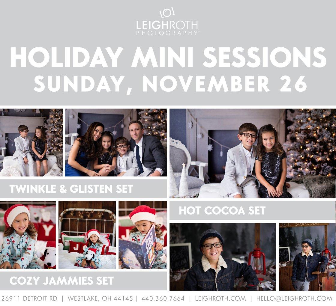 Image of 2017 Holiday Mini Sessions - NOVEMBER 26