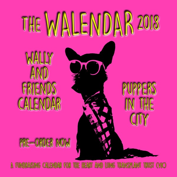 Image of The Walendar 2018 - Wally and Friends - Puppers in the City