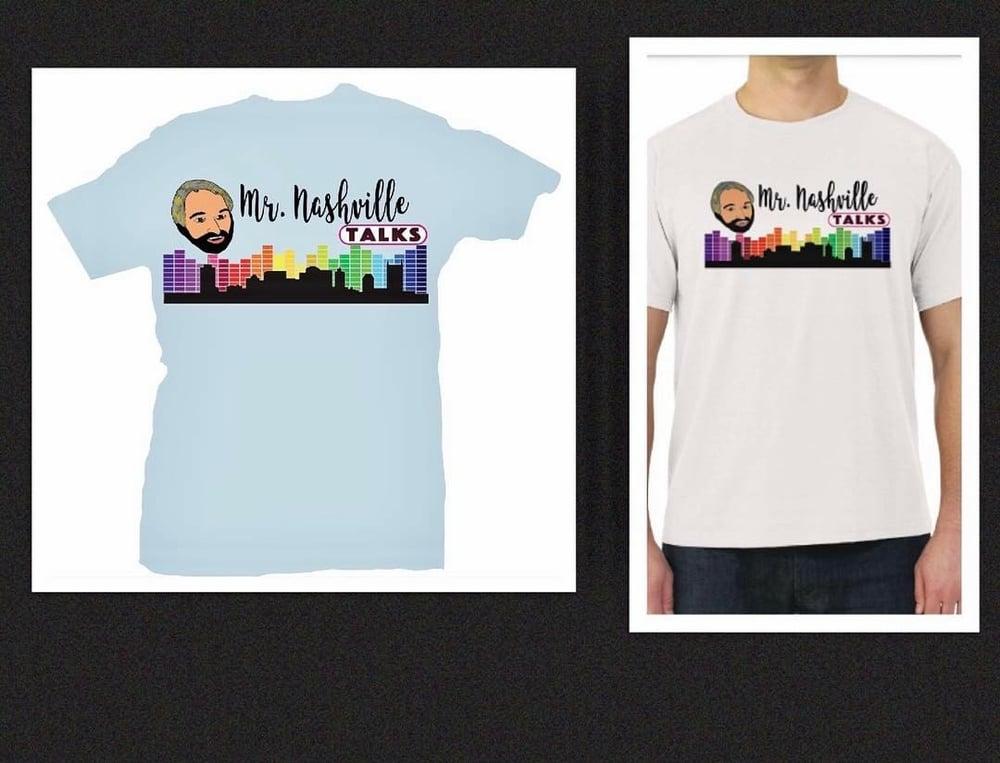 Image of Mr. Nashville Talks Shirt