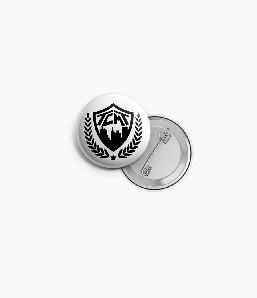 Image of TCMT Crest BUTTON PINS