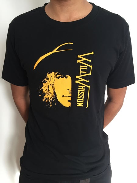 Image of Men's Yellow Stencil T-Shirt