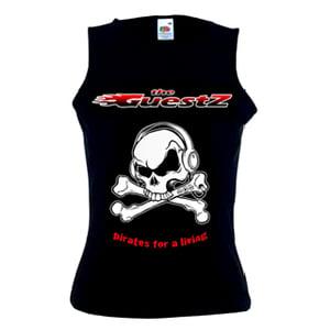 Image of Girl fit sleeveless t-shirt