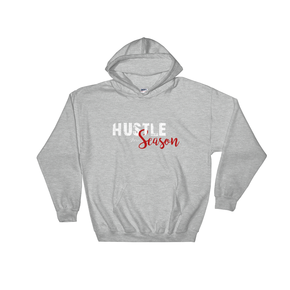 Image of HUSTLE SEASON HOODIE - GRAY