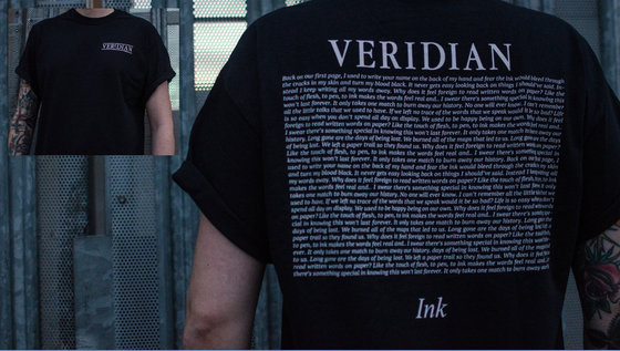 Image of 'Ink' Lyric Pocket Tee