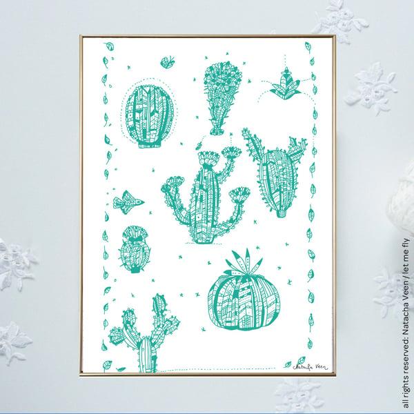 Image of *Cactus*_18x24cm