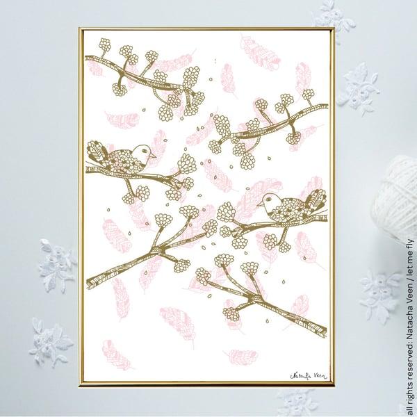 Image of *Spring Birds*_A4