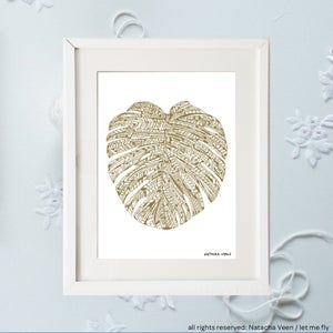 Image of Gold *Monstera*_A4