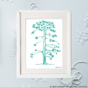 Image of Green tree of life_A4