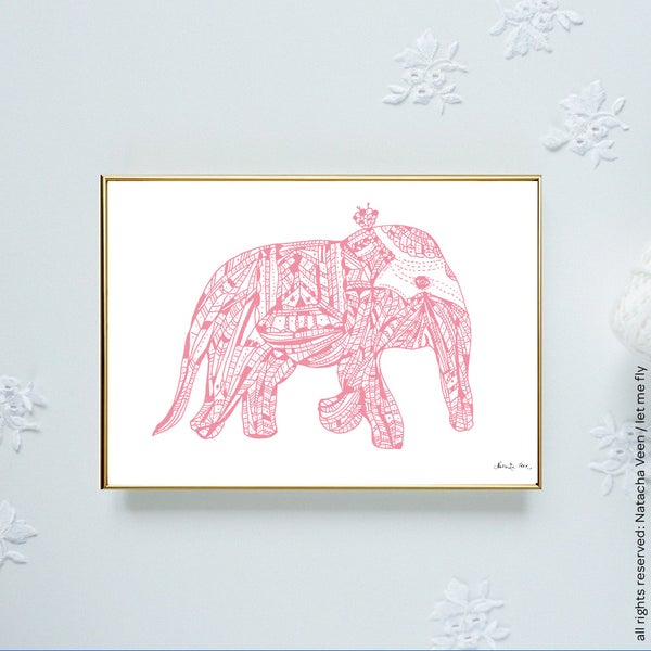 Image of Pink *elephant*_A6